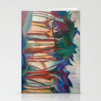 Abstract Landscape I Stationery Cards