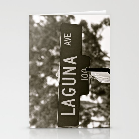 Laguna  Stationery Card