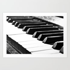 Piano 10  Art Print