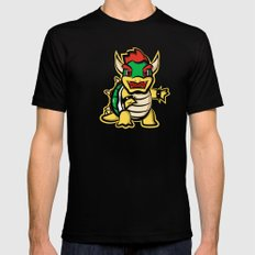 Bowtle Black SMALL Mens Fitted Tee