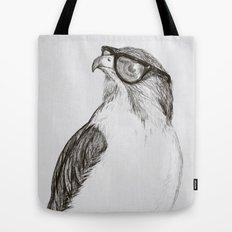 Hawk with Poor Eyesight Tote Bag