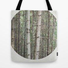 robert frost's birch trees Tote Bag