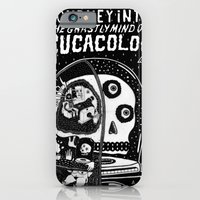 journey in to the ghastly mind of cucacolor iPhone 6 Slim Case