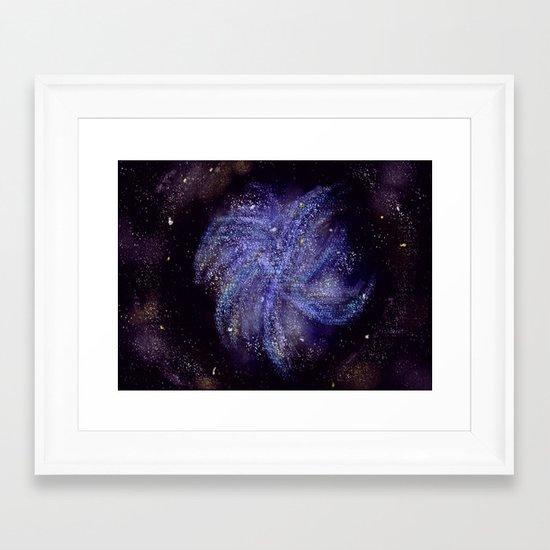 Pinwheel Galaxy Framed Art Print