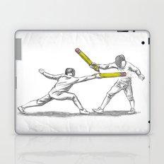 Parry Thrust Pencil Erase Laptop & iPad Skin