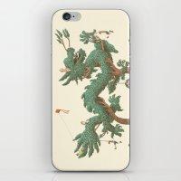 The Night Gardener - The Dragon Tree iPhone & iPod Skin