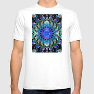 T-shirt featuring Mixed Media Mandala 10 by Phil Perkins