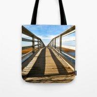 Cross The Bridge Tote Bag