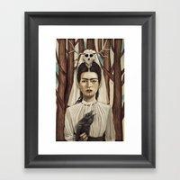 FRIDArk Framed Art Print