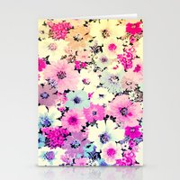 Vintage Flowers XXI - for iphone Stationery Cards