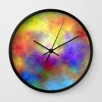 Oh So Colorful Wall Clock