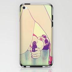 Girl With Gun 2 iPhone & iPod Skin