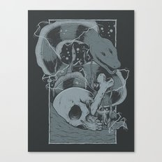 Eelectric Canvas Print