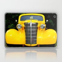 Yellow Chevy Laptop & iPad Skin