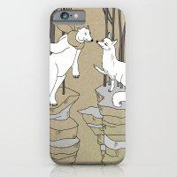 Arctic fox and Polar bear, Romeo and Juliet iPhone 6 Slim Case
