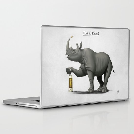 Cork it, Durer! Laptop & iPad Skin