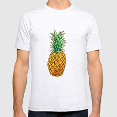 Pineapple Mens Fitted Tee Ash Grey SMALL