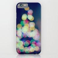 Blue Christmas iPhone 6 Slim Case