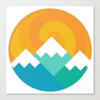 Mountain Alternative Canvas Print