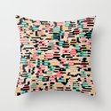 blending mode Throw Pillow