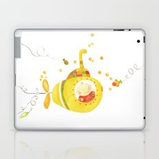 Baby's yellow submarine Laptop & iPad Skin