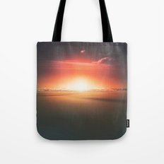 When the day breaks Tote Bag