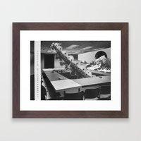 Office Room #9 Framed Art Print