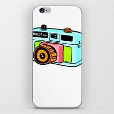 Holga camera iPhone & iPod Skin
