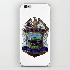 Providence Police [white] iPhone & iPod Skin