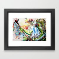 Architect of Prehysterical Myth Framed Art Print