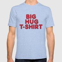 Big Hug Mens Fitted Tee Tri-Blue SMALL