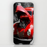 Hot Rod Red iPhone & iPod Skin