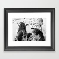 Continue, You Are So Str… Framed Art Print