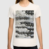Birch Bark Womens Fitted Tee Natural SMALL