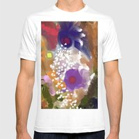 Into The Circles  Mens Fitted Tee White SMALL