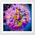 flowers magic Art Print