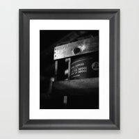 Better Safe Framed Art Print