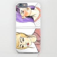 Fancy hair pair iPhone 6 Slim Case