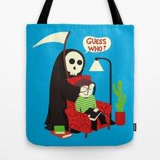 Guess Who Tote Bag