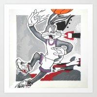 Looney 8's Art Print