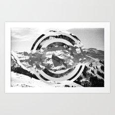 CIRCE DE MONTAGNE Art Print