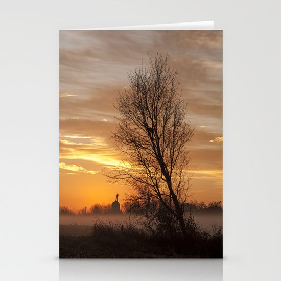A New Day Dawning Stationery Card
