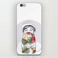 L Skate iPhone & iPod Skin