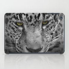 An Intense Stare - Wildlife - Leopard iPad Case