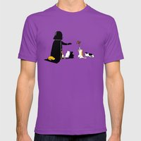 I can haz force Mens Fitted Tee Ultraviolet SMALL