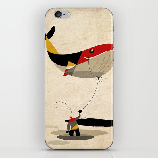 thoughts on a leash iPhone & iPod Skin