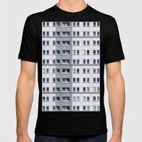 Windows Mens Fitted Tee Black SMALL