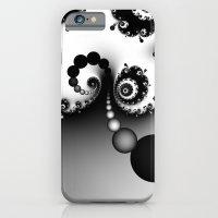 Black And White Fractal … iPhone 6 Slim Case