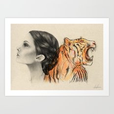Two Sides of the Crown Art Print