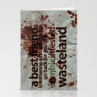 Zombie Infested Wastelan… Stationery Cards